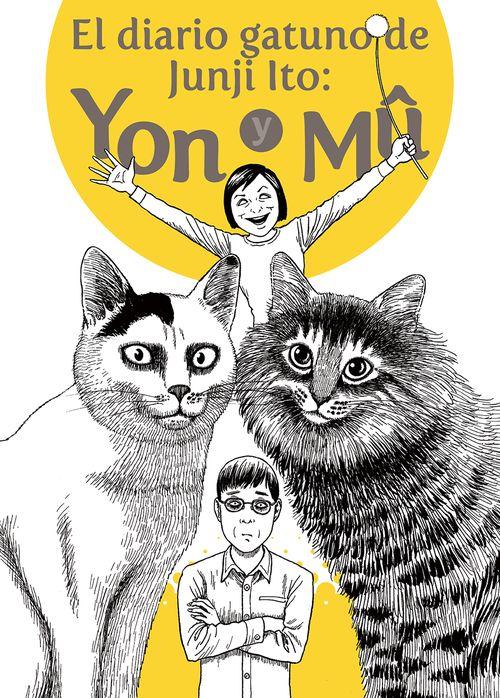 El diario gatuno de Junji Ito: portada