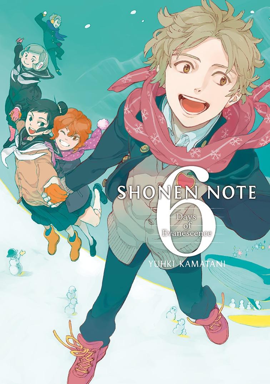 Shonen note, vol.6: portada