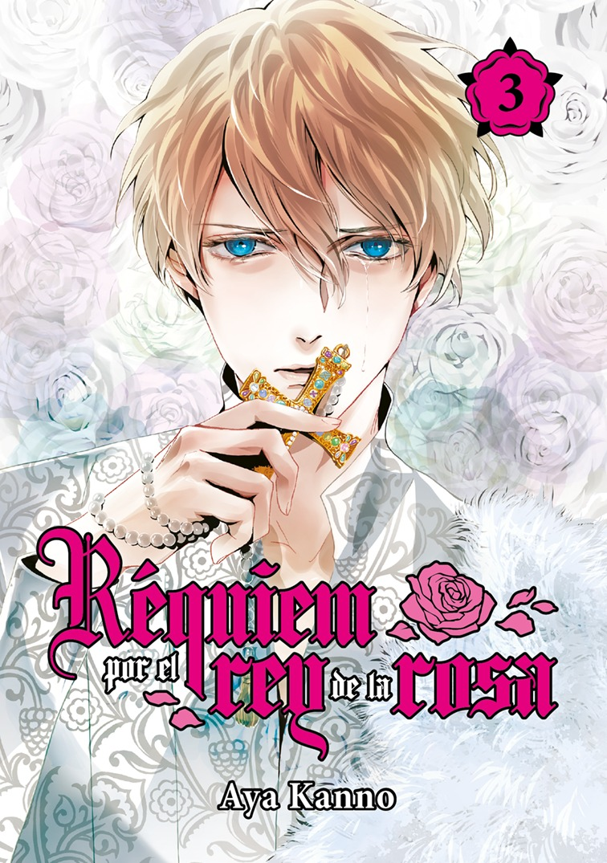 Réquiem por el rey de la rosa, vol. 3: portada