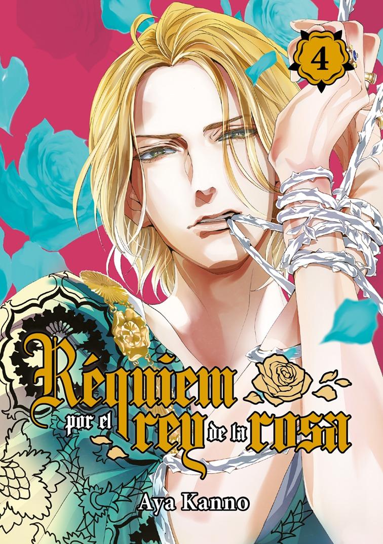 Réquiem por el rey de la rosa, vol. 4: portada