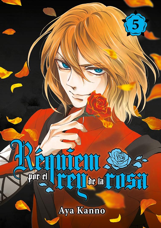 Réquiem por el rey de la rosa, vol. 5: portada