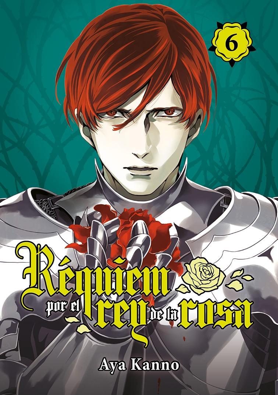 Réquiem por el rey de la rosa, vol. 6: portada