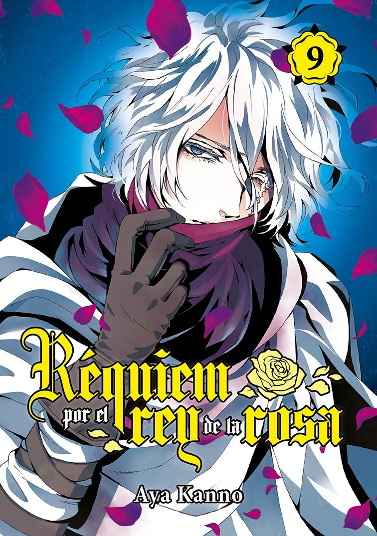 Réquiem por el rey de la rosa, vol. 9: portada