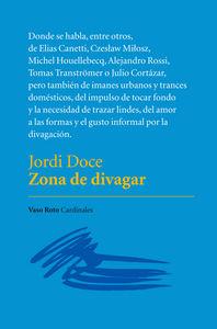 ZONA DE DIVAGAR: portada