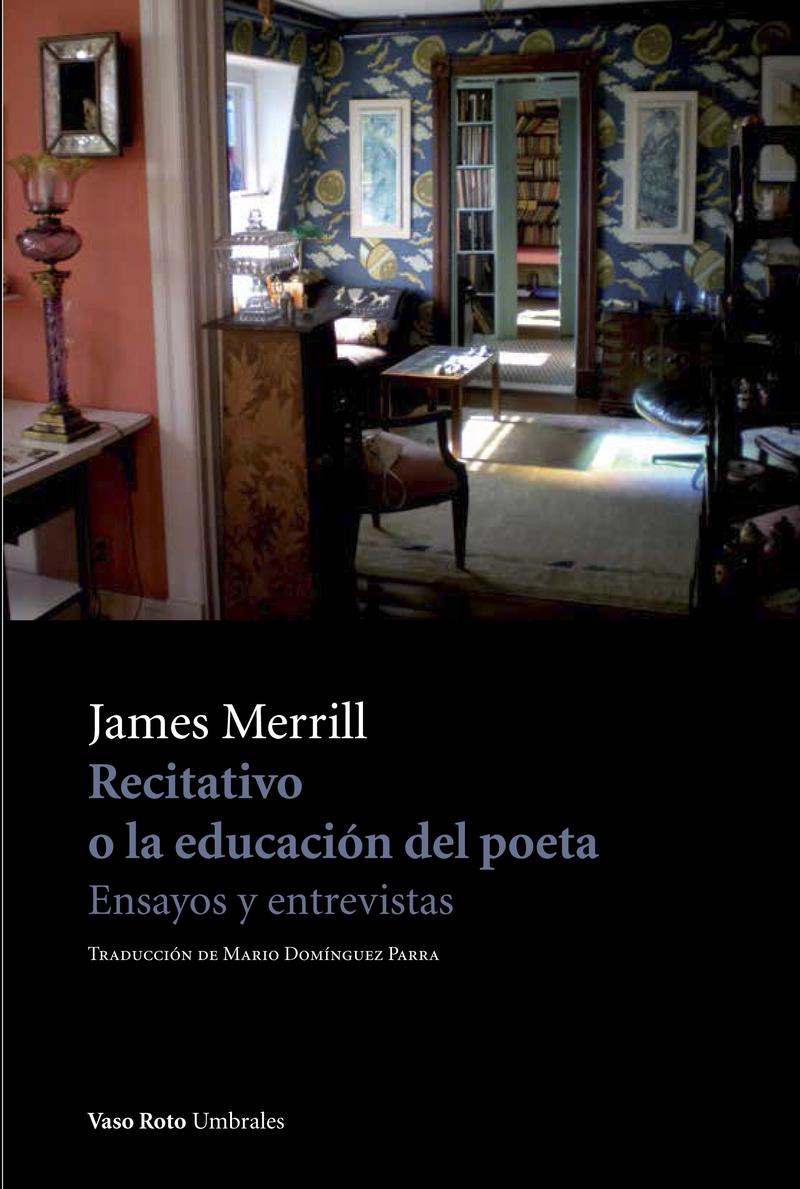 Recitativo o la educación del poeta: portada