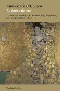 La dama de oro: portada