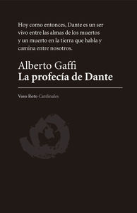 La profec�a de Dante: portada