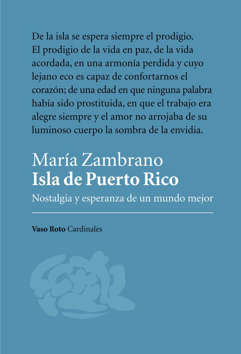 Isla de Puerto Rico: portada