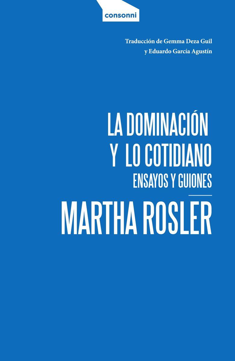 DOMINACION Y LO COTIDIANO,LA: portada