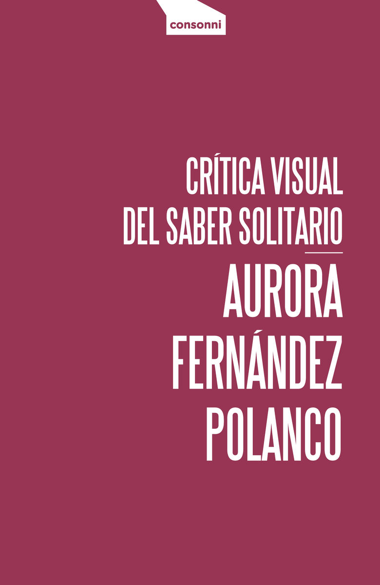 CRITICA VISUAL DEL SABER SOLITARIO: portada