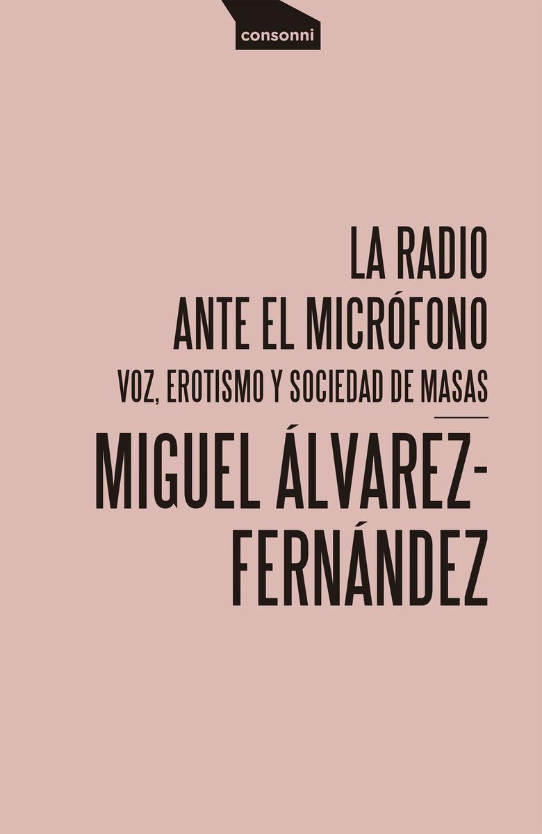 La radio ante el micrófono: portada