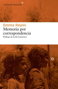 MEMORIA POR CORRESPONDENCIA: portada