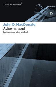 ADIÓS EN AZUL: portada