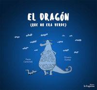 El dragón que no era verde: portada