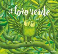 El loro verde: portada