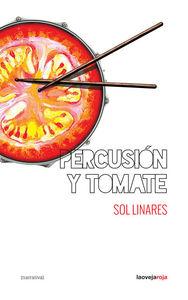Percusión y tomate: portada
