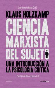 Ciencia marxista del sujeto: portada
