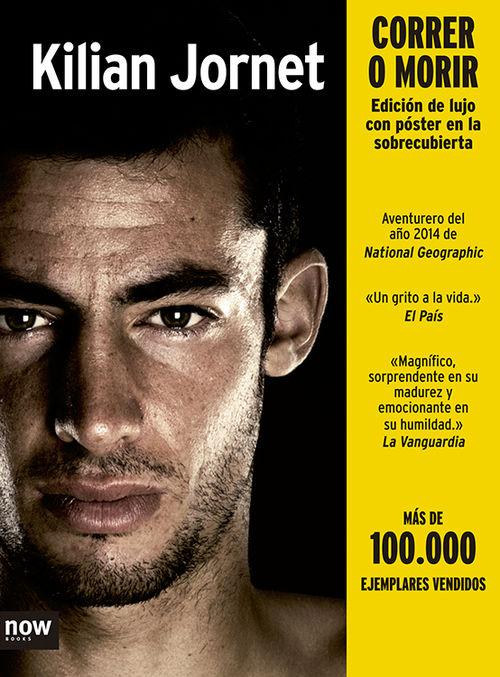 CORRER O MORIR ED. ESPECIAL - CAST: portada