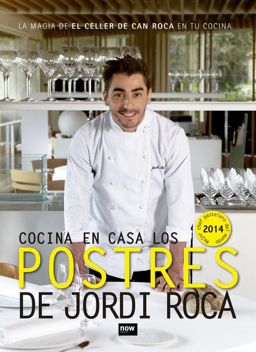 COCINA EN CASA LOS POSTRES DE JORDI ROCA: portada