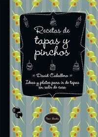 RECETAS DE TAPAS Y PINCHOS: portada