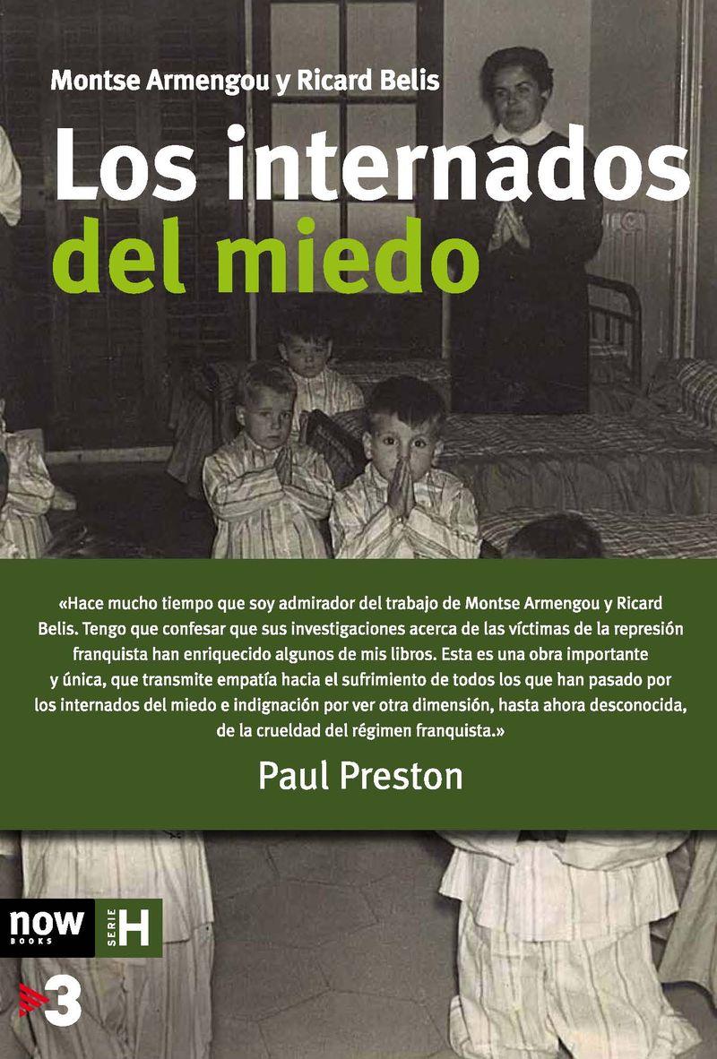 LOS INTERNADOS DEL MIEDO- 3ª ed: portada