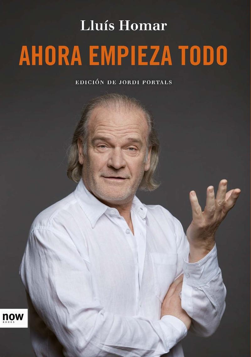 AHORA EMPIEZA TODO: portada