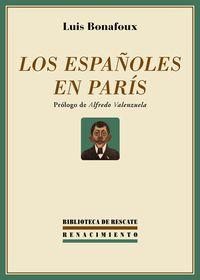 Los españoles en París: portada