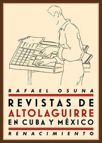 REVISTAS DE ALTOLAGUIRRE EN CUBA Y MéXICO: portada