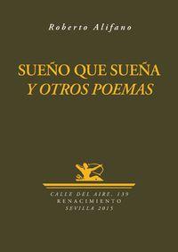 Sueño que sueña y otros poemas: portada