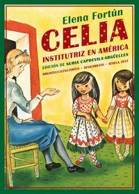 Celia institutriz en América: portada