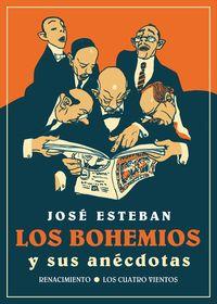 Los bohemios y sus anécdotas: portada