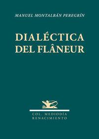 Dialéctica del flâneur: portada