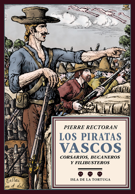 Los piratas vascos: portada