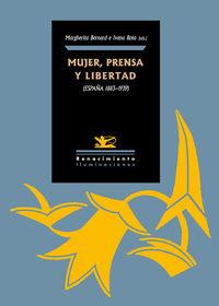 Mujer. prensa y libertad (Espa�a 1890-1939): portada