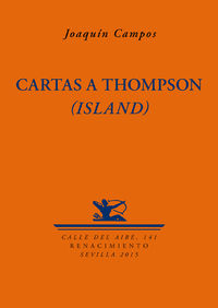 Cartas a Thompson (Island): portada