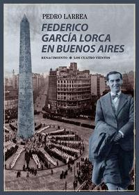 Federico García Lorca en Buenos Aires: portada