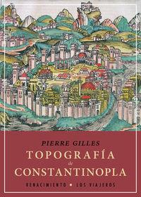 Topografía de Constantinopla: portada
