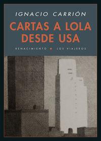 Cartas a Lola desde USA: portada