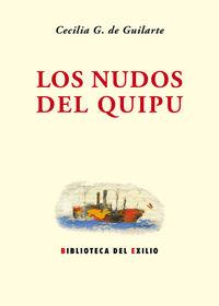 Los nudos del quipu: portada