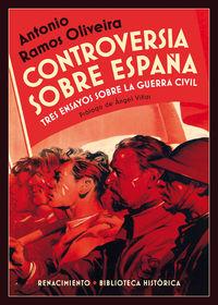 Controversia sobre Espa�a: portada