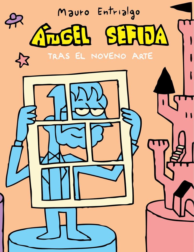 ANGEL SEFIJA TRAS EL NOVENO ARTE: portada