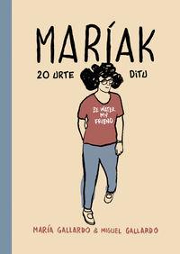 MARÍAK 20 URTE DITU: portada