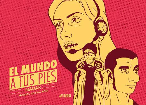 EL MUNDO A TUS PIES: portada