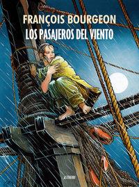 LOS PASAJEROS DEL VIENTO: portada