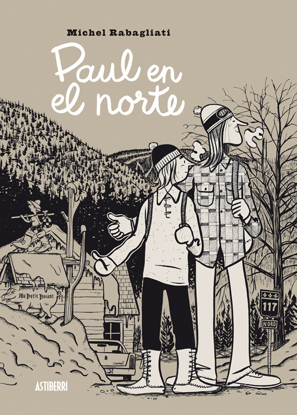 PAUL EN EL NORTE: portada