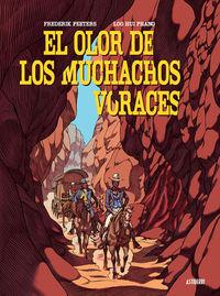 EL OLOR DE LOS MUCHACHOS VORACES: portada