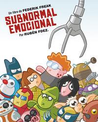 SUBNORMAL EMOCIONAL: portada