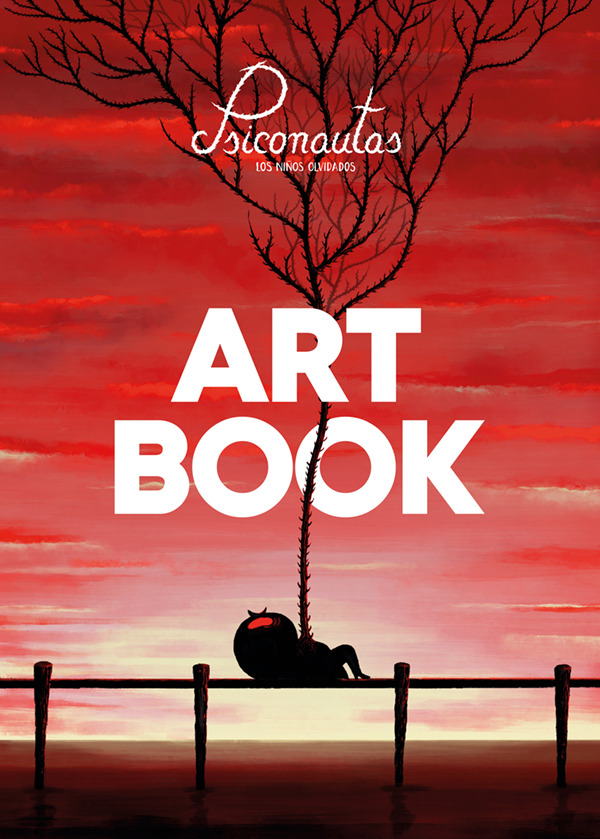 PSICONAUTAS. LOS NIñOS OLVIDADOS. ART BOOK: portada