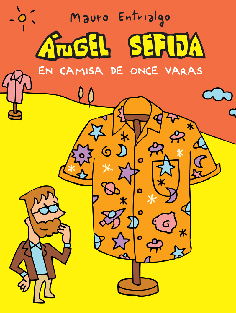ÁNGEL SEFIJA EN CAMISA DE ONCE VARAS: portada