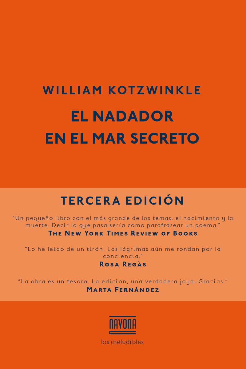 EL NADADOR EN EL MAR SECRETO: portada